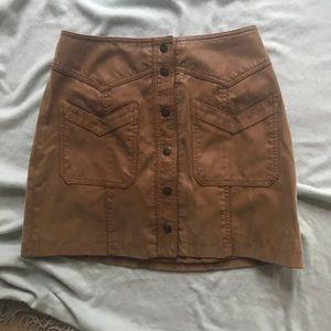 Free people high waist skirt